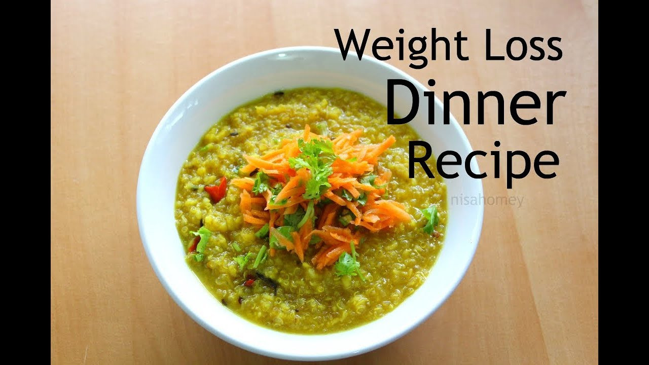 Healthy Low Fat Recipes For Weight Loss  Healthy Quinoa Khichdi Recipe For Weight Loss Skinny