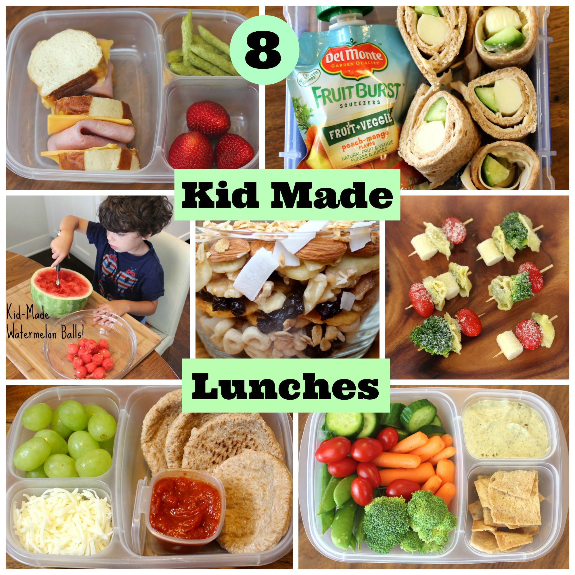 Healthy Lunches For Kids  4 Healthy School Lunches Your Kids Can Make Themselves