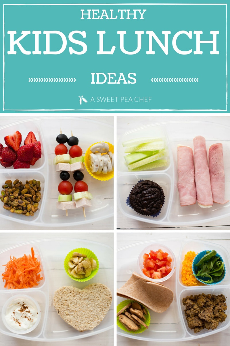 Healthy Lunches For Kids  Healthy Kids Lunch • A Sweet Pea Chef