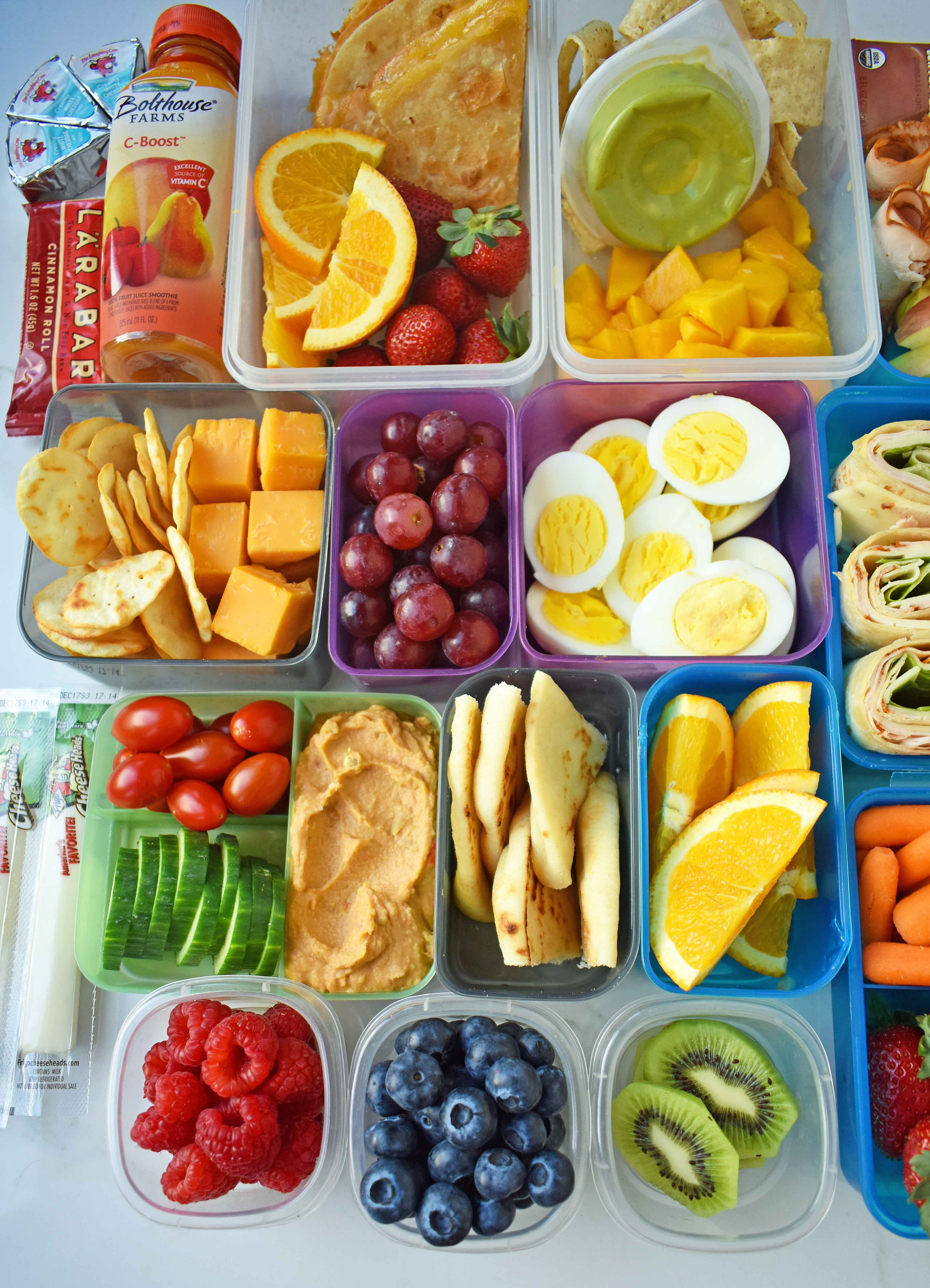 Healthy Lunches For Kids  Back to School Kids Lunch Ideas – Modern Honey