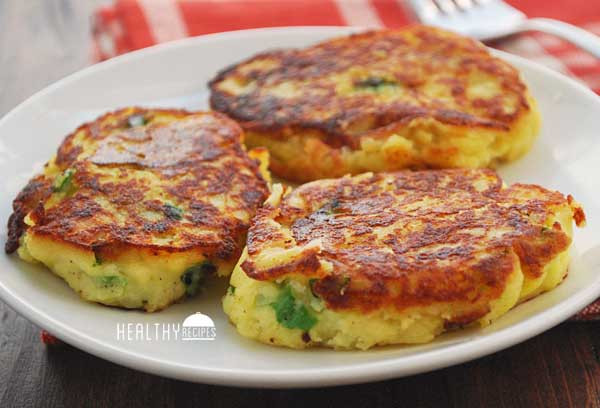 Healthy Mashed Potatoes  Mashed Potato Pancakes Recipe Gluten Free No Flour