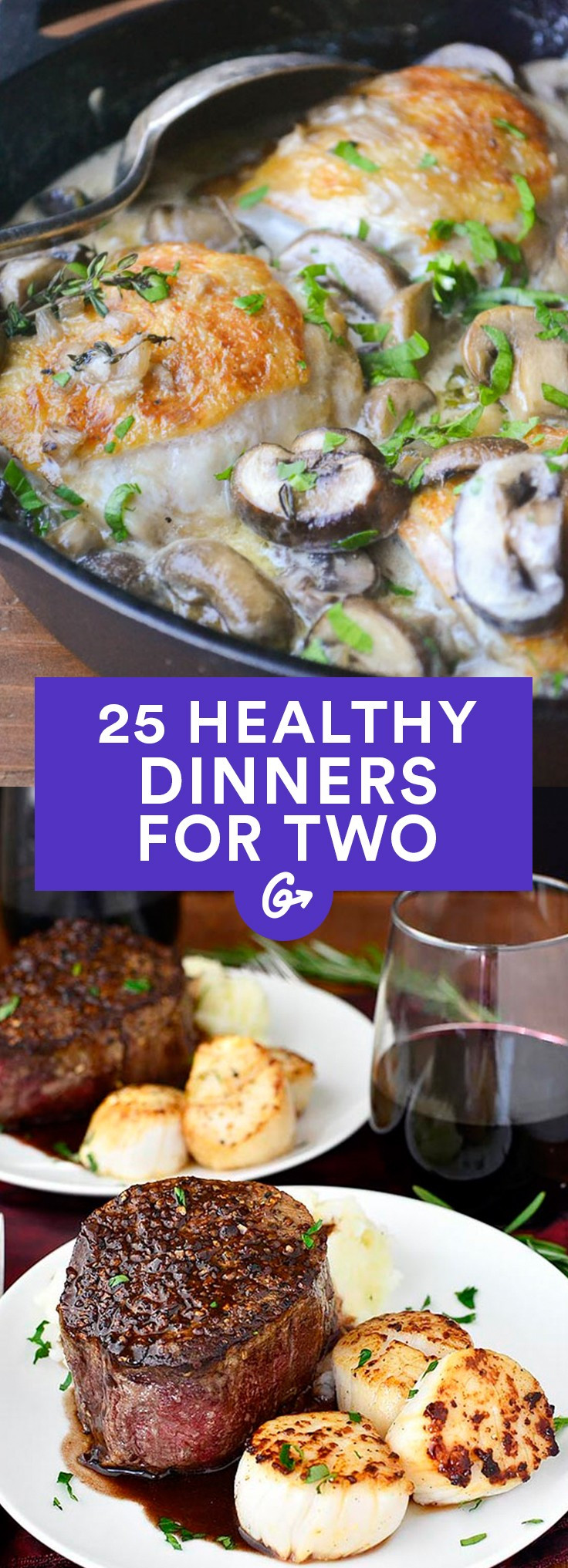Healthy Meal Ideas For Dinner  Healthy Dinner Recipes for Two