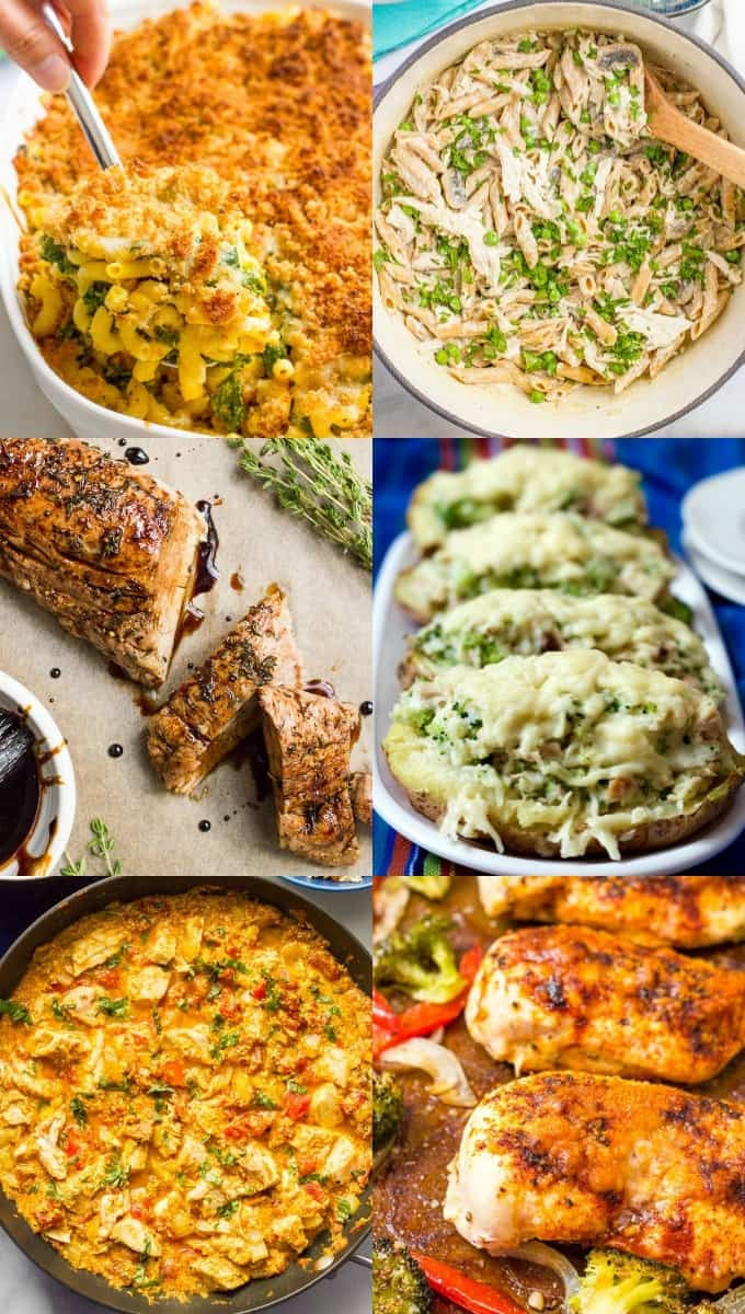 Healthy Meal Ideas For Dinner  30 easy healthy family dinner ideas Family Food on the Table