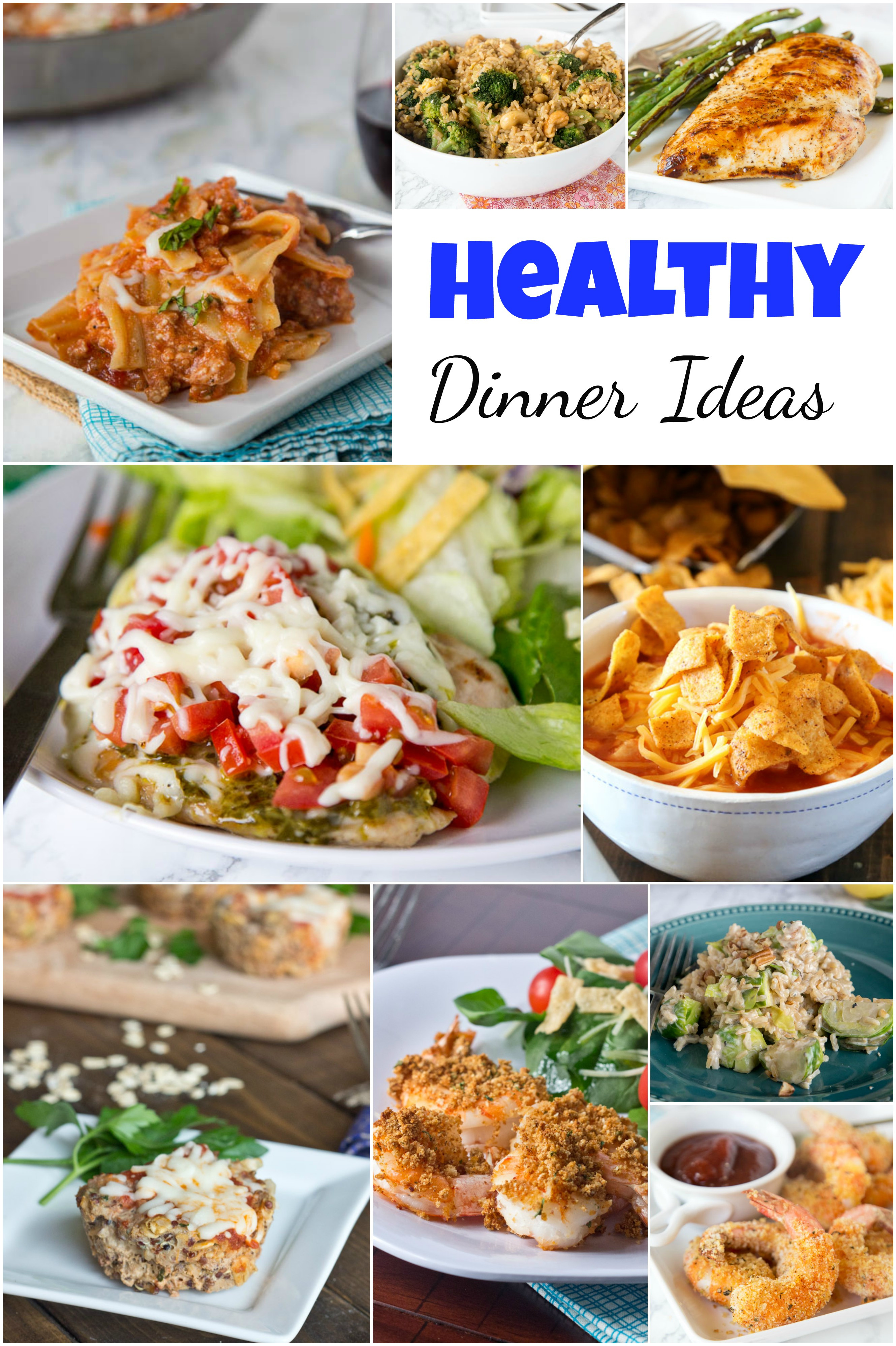 Healthy Meal Ideas For Dinner  Healthy Dinner Ideas Dinners Dishes and Desserts