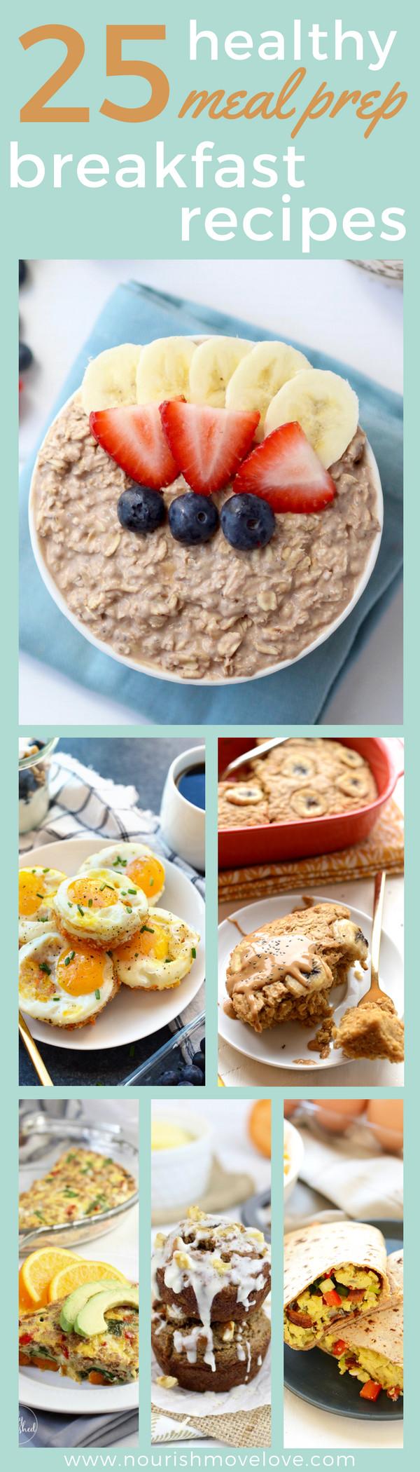 Healthy Meal Prep Breakfast  25 Healthy Meal Prep Breakfast Recipes