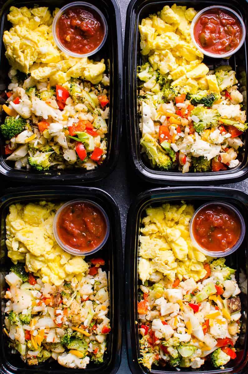 Healthy Meal Prep Breakfast  Healthy Breakfast Meal Prep iFOODreal Healthy Family