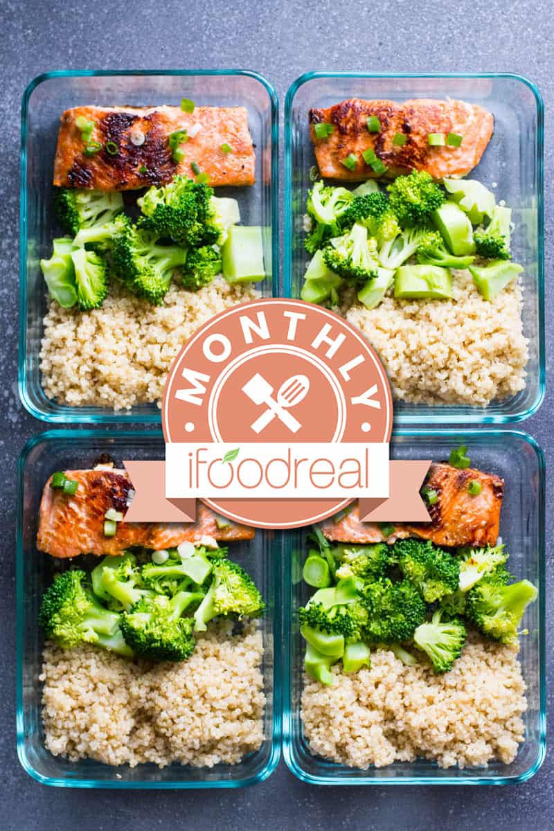 Healthy Meal Prep Breakfast  Healthy Meal Prep February Giveaway iFOODreal
