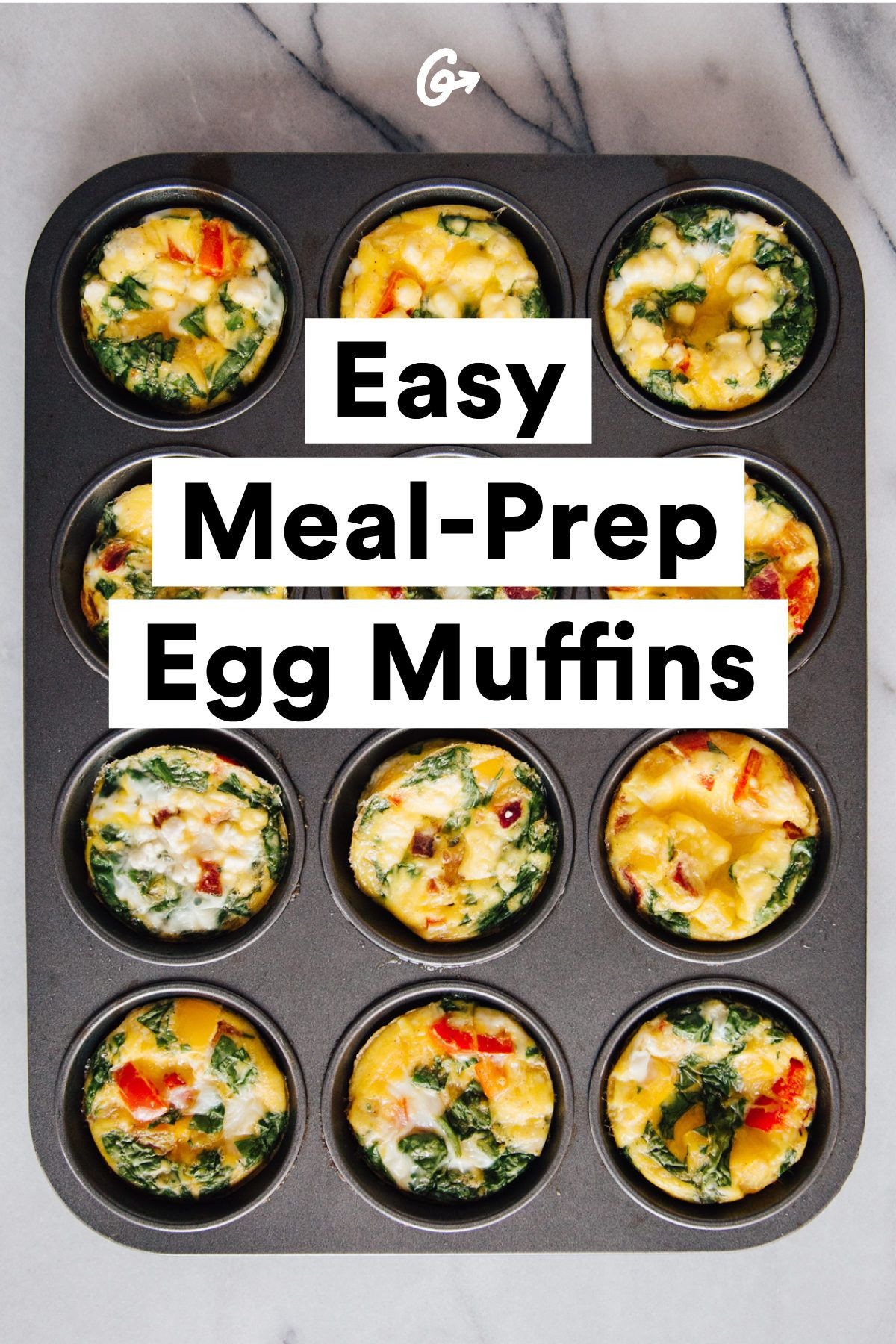 Healthy Meal Prep Breakfast  Make Eggs ce Eat Them All Week Without Getting Bored