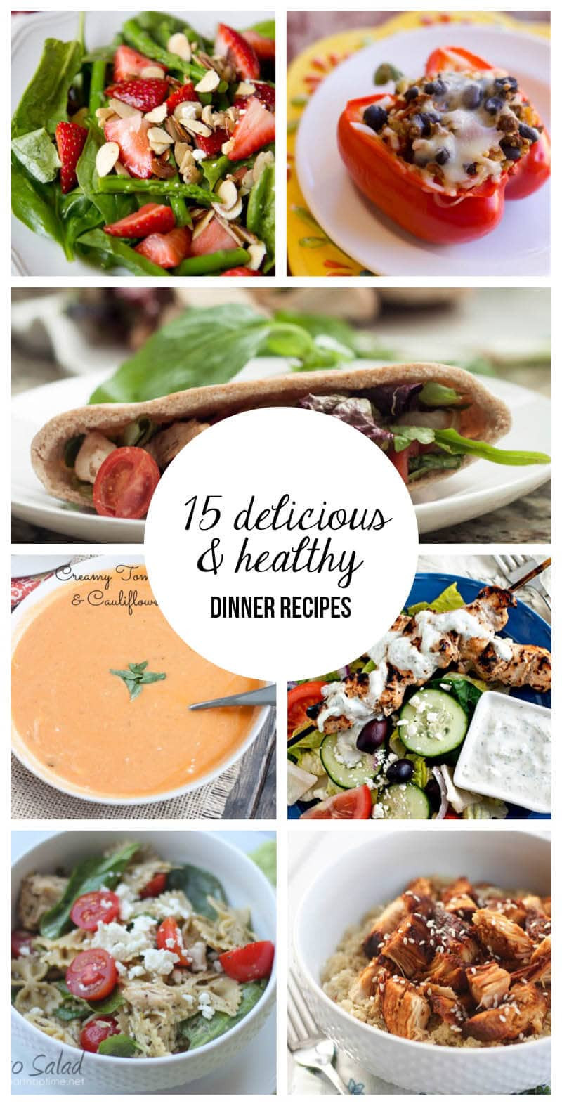 Healthy Meals For Dinner  Food healthy dinner recipes