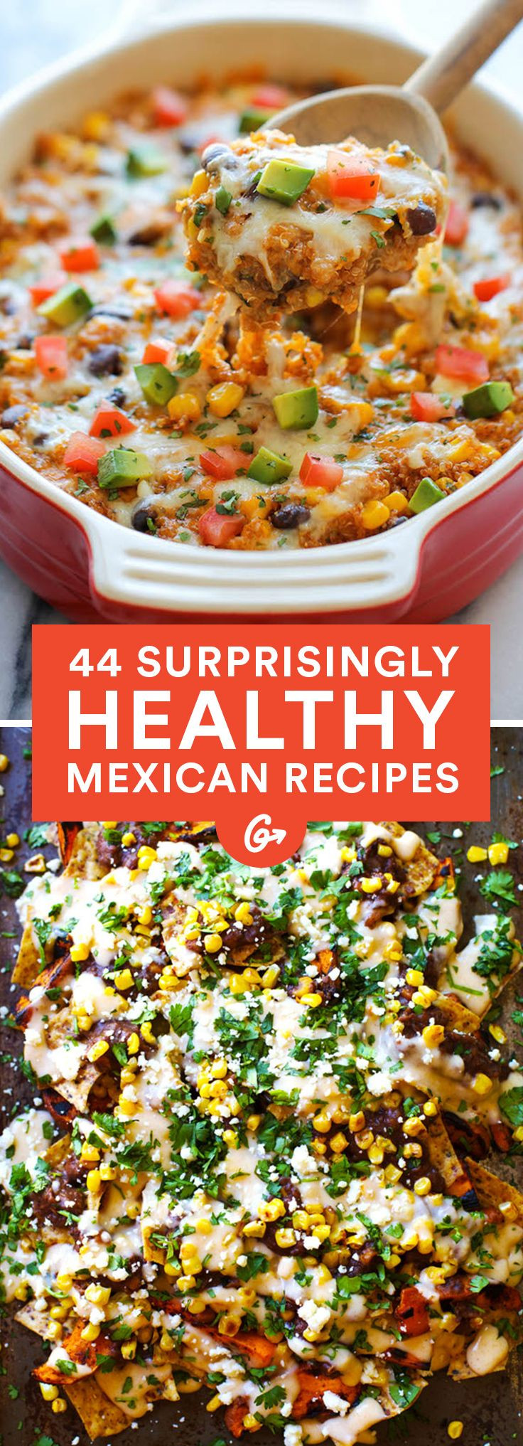 Healthy Mexican Recipes  Best 25 Mexican meals ideas on Pinterest