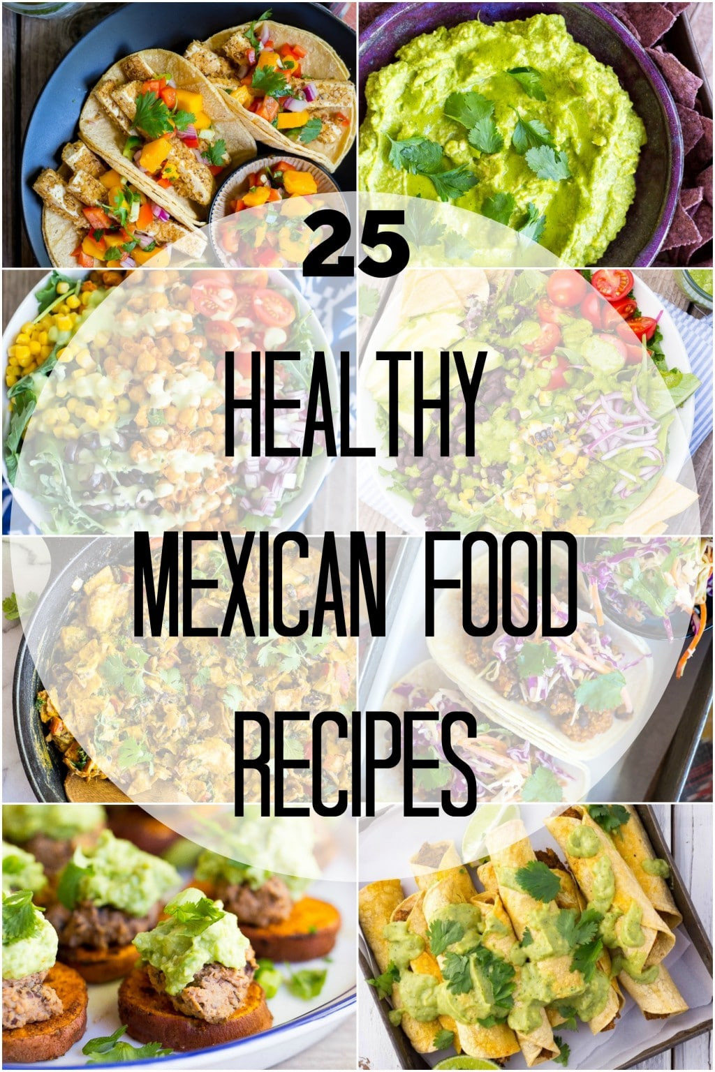 Healthy Mexican Recipes  25 Healthy Mexican Food Recipes She Likes Food