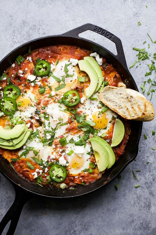 Healthy Mexican Recipes  Easy e Pot Mexican Shakshuka