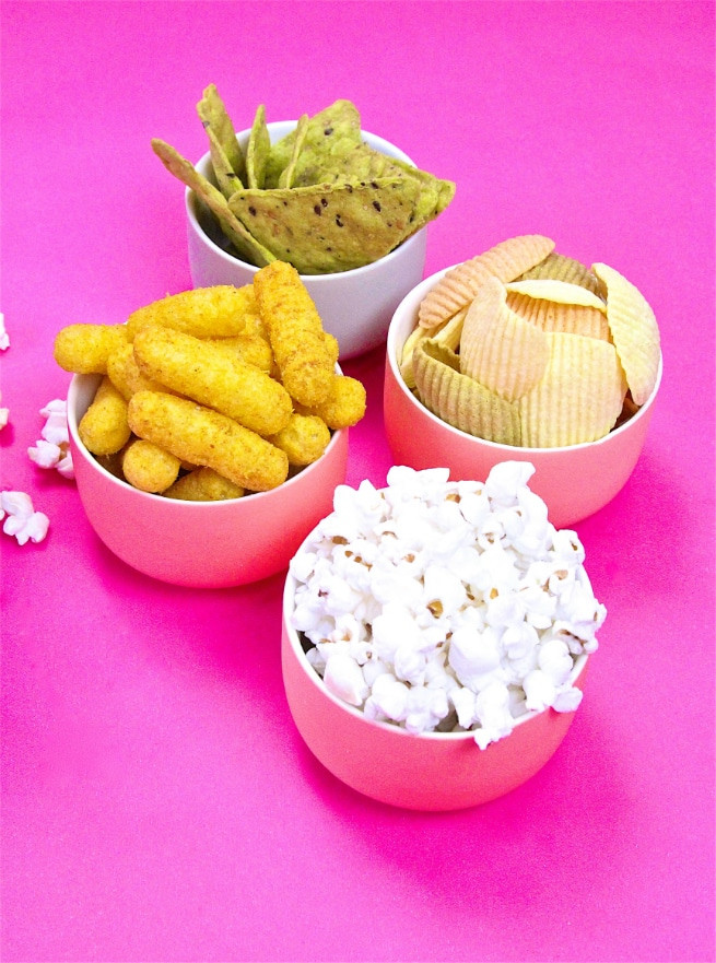 Healthy Movie Snacks  Healthier Summer Movie Night Snacks ⋆ Brite and Bubbly