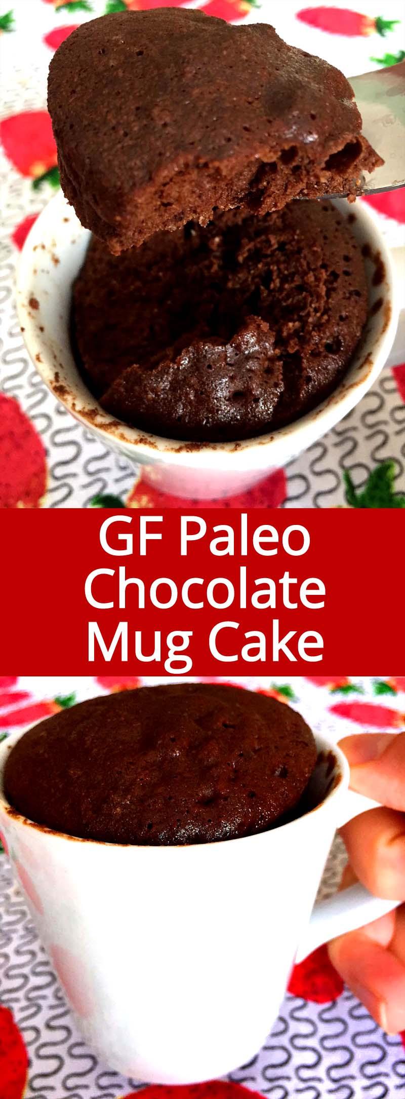 Healthy Mug Cake  Healthy Chocolate Mug Cake Recipe Gluten Free Paleo