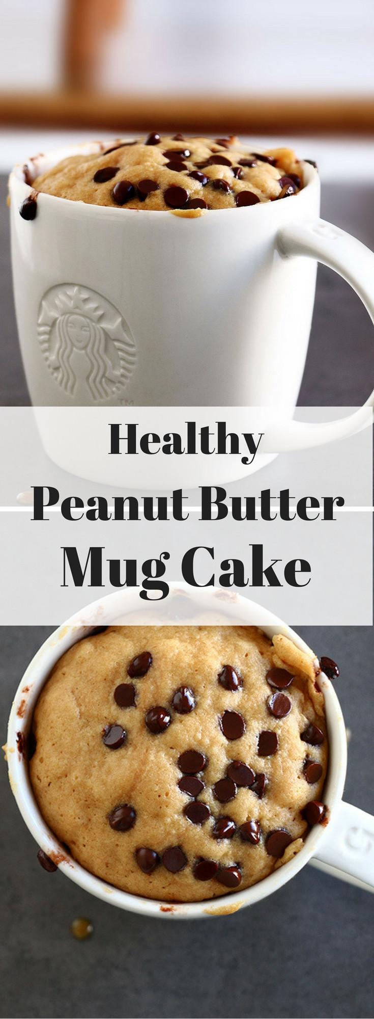 Healthy Mug Cake  Healthy Peanut Butter Mug Cake Baking Ginger