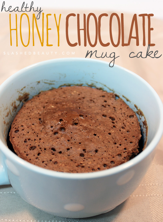 Healthy Mug Cake  Healthy Honey Chocolate Mug Cake Recipe