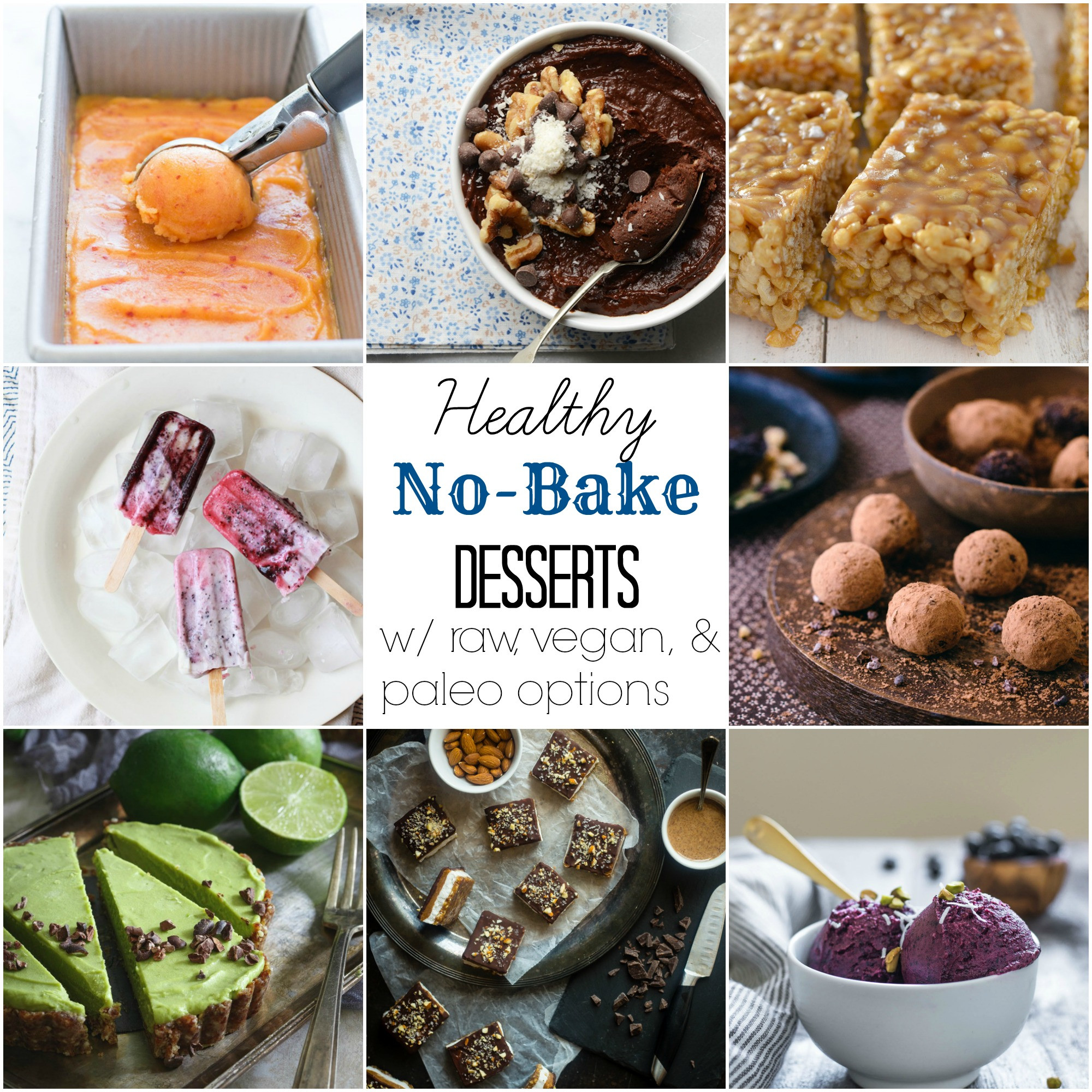 Healthy No Bake Desserts  53 Healthy No Bake Desserts With Vegan and Paleo Options