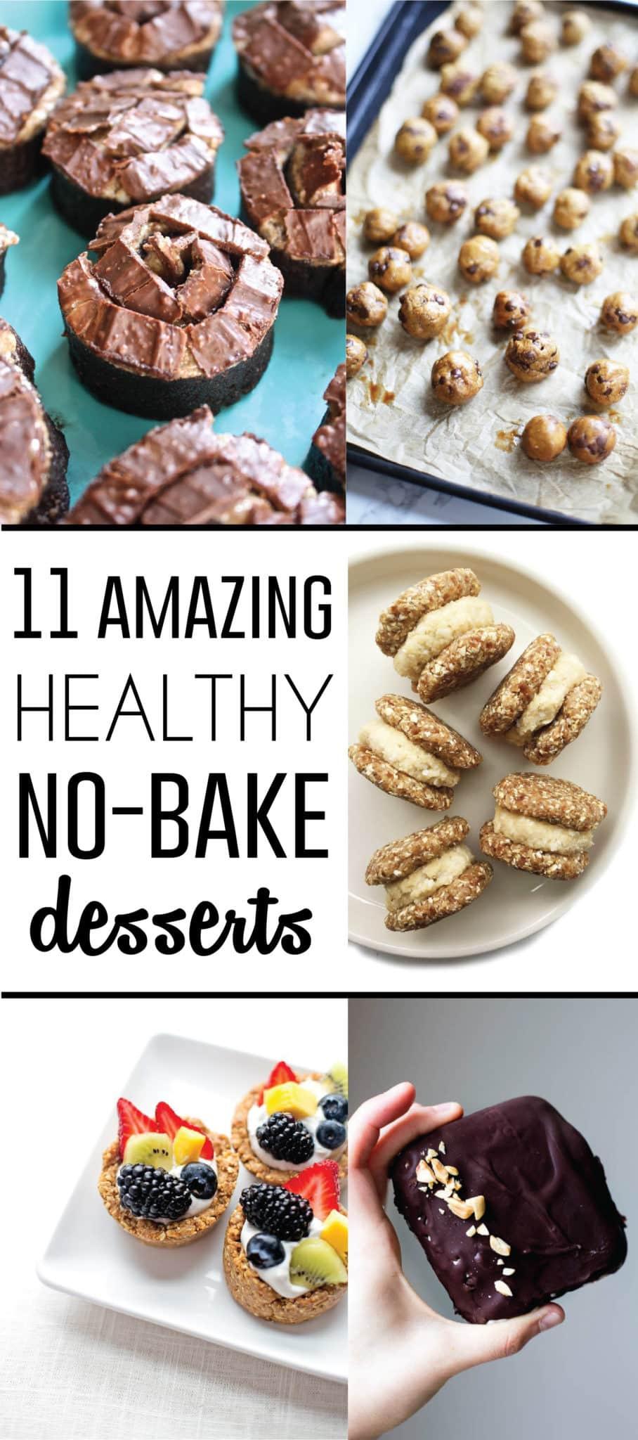 Healthy No Bake Desserts  11 Amazing Healthy No Bake Dessert Recipes • Fit Mitten