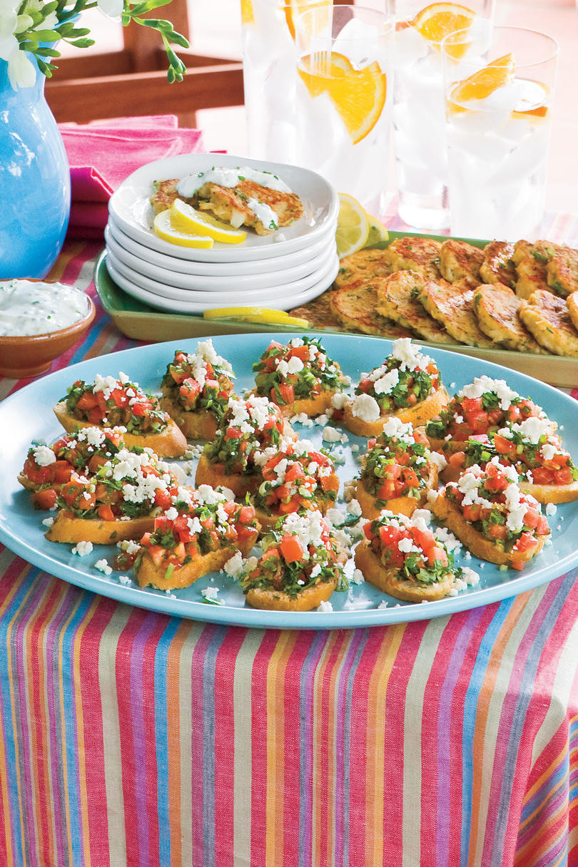Healthy Party Appetizers  Healthy Appetizer Recipes and Party Snacks Southern Living