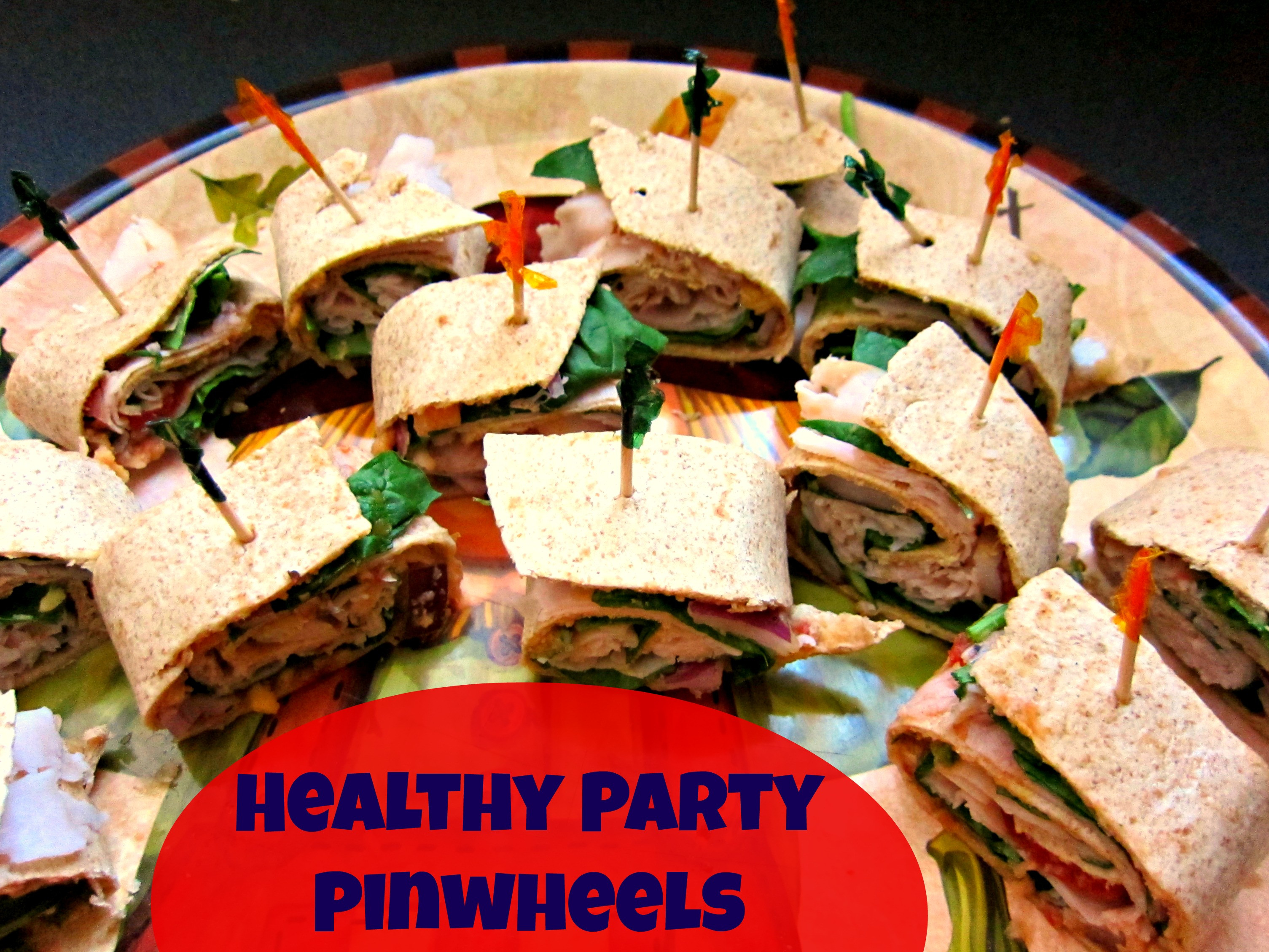 Healthy Party Snacks  Tailgate Party Pinwheels