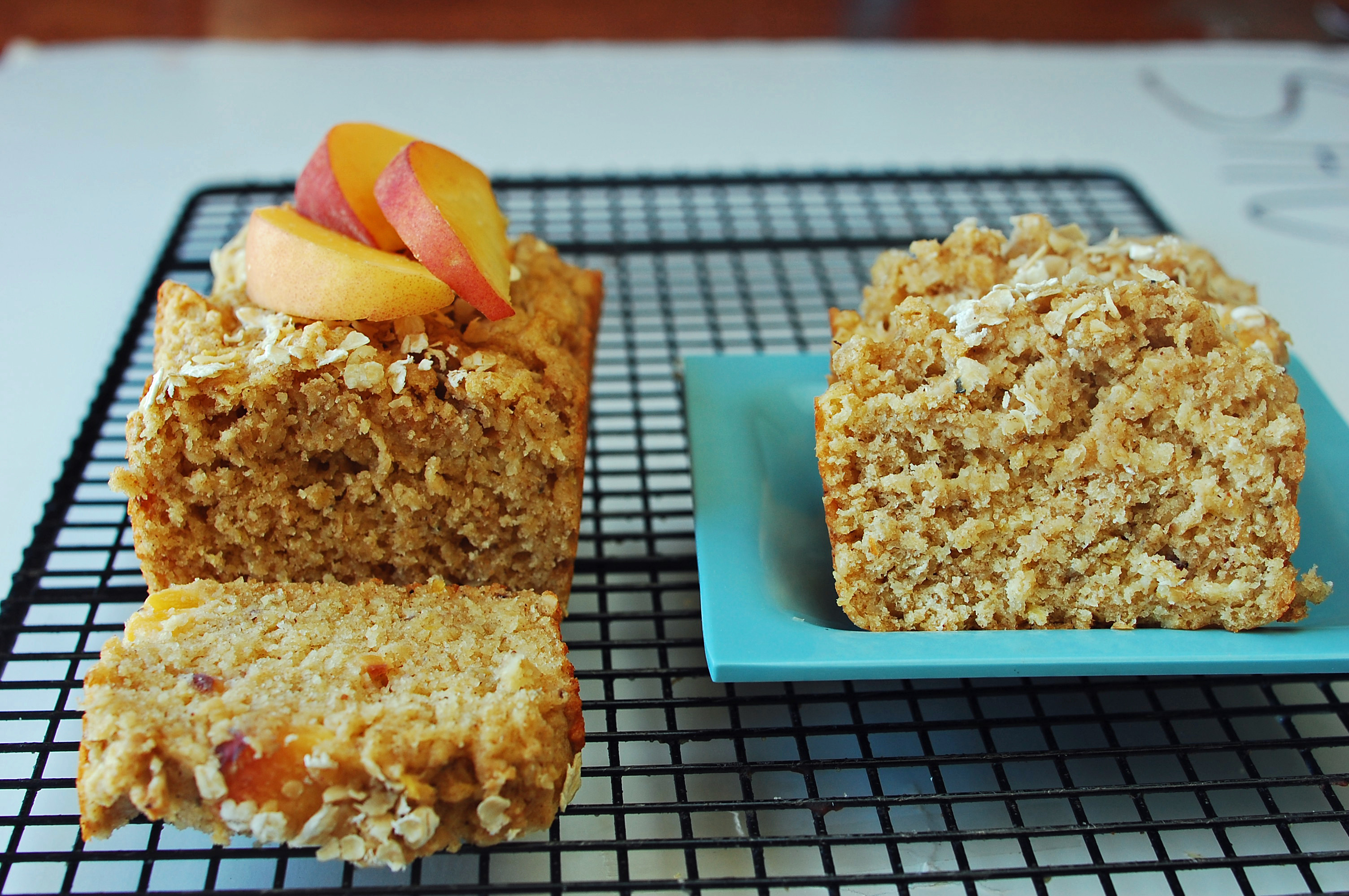 Healthy Peach Recipes  Peach Crisp Bread Recipe