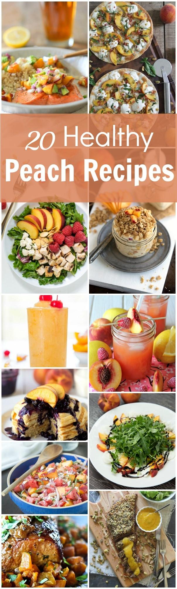 Healthy Peach Recipes  20 Healthy Peach Recipes Primavera Kitchen