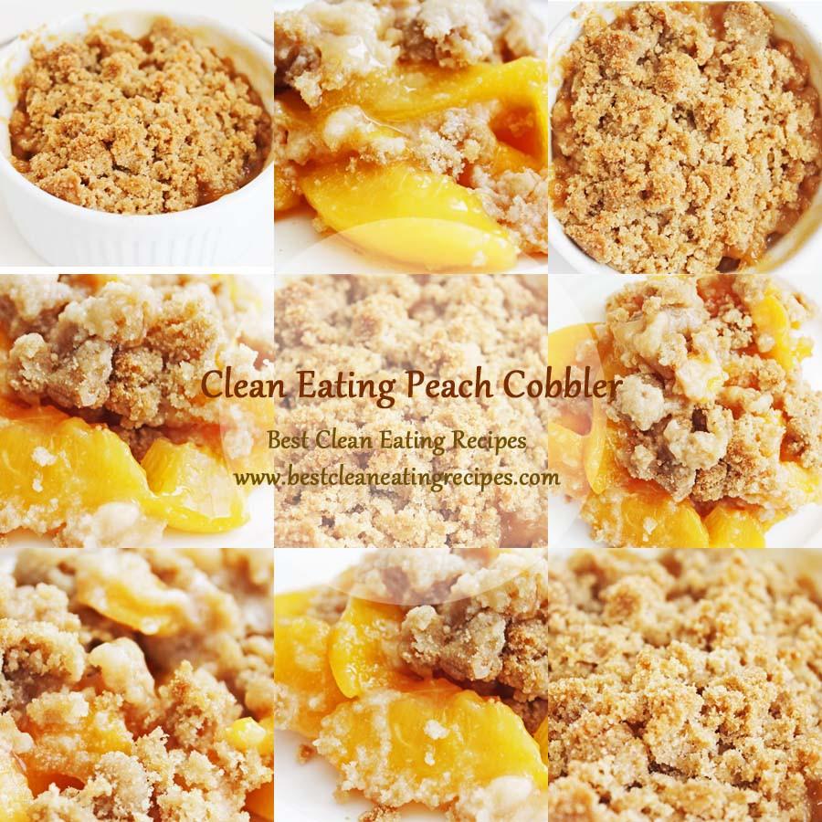 Healthy Peach Recipes  Healthy Dessert Clean Eating Peach Cobbler