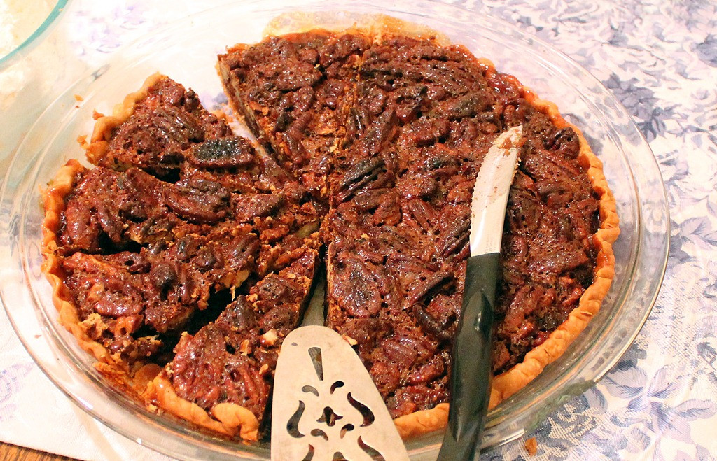 Healthy Pecan Pie  What I ate for Thanksgiving Dinner