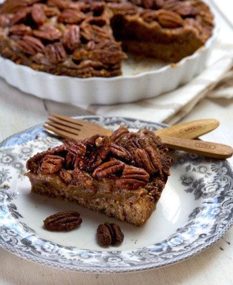Healthy Pecan Pie  Healthy Thanksgiving Recipes gluten free ve arian