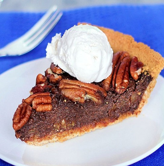 Healthy Pecan Pie  Vegan Thanksgiving Recipes For Dinner And Dessert