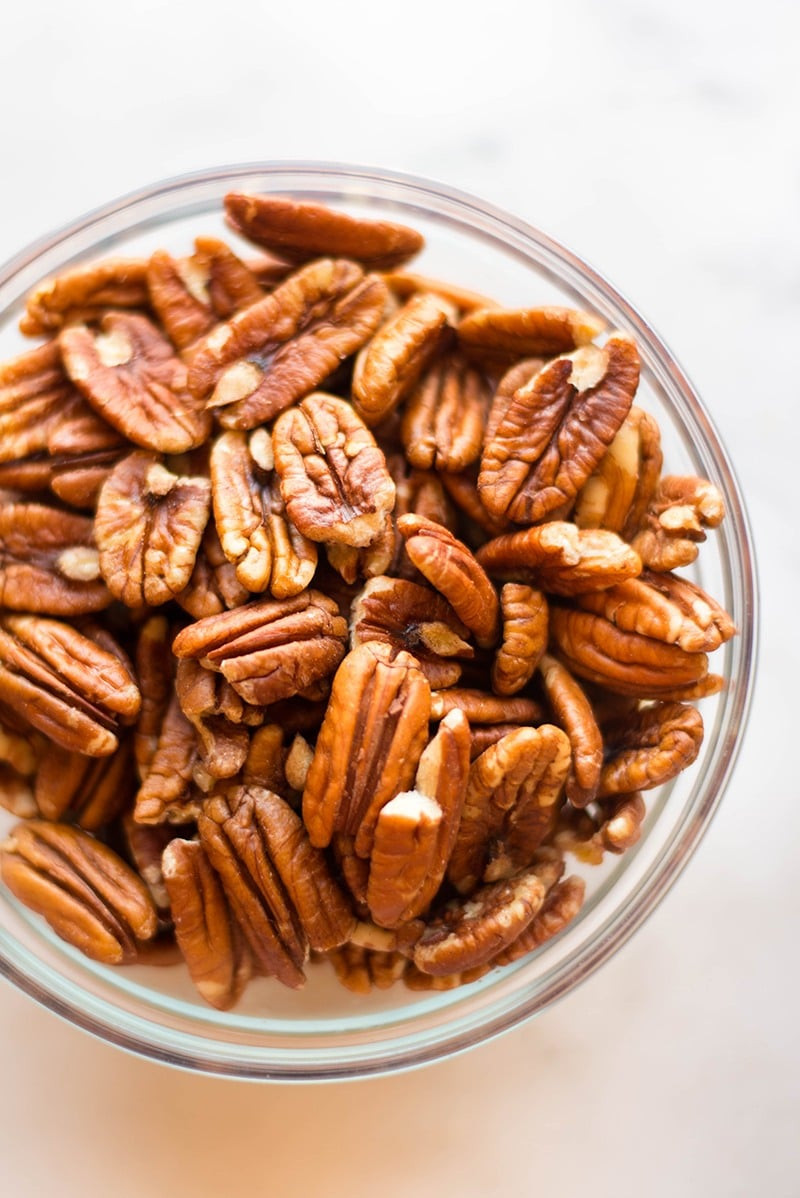 Healthy Pecan Pie  Healthy Pecan Pie Without Corn Syrup • A Sweet Pea Chef