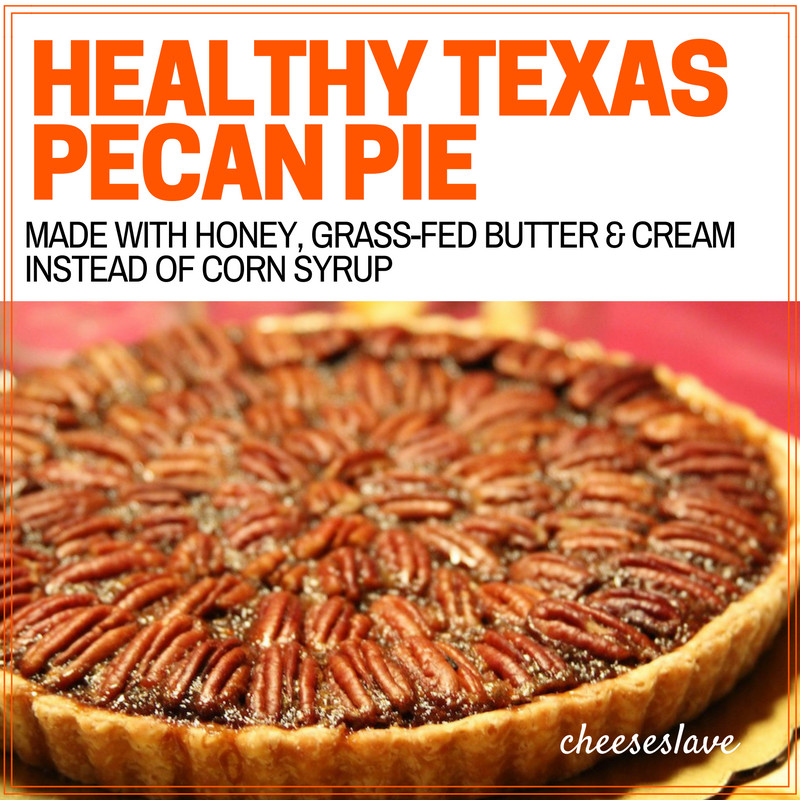 Healthy Pecan Pie  Healthy Texas Pecan Pie