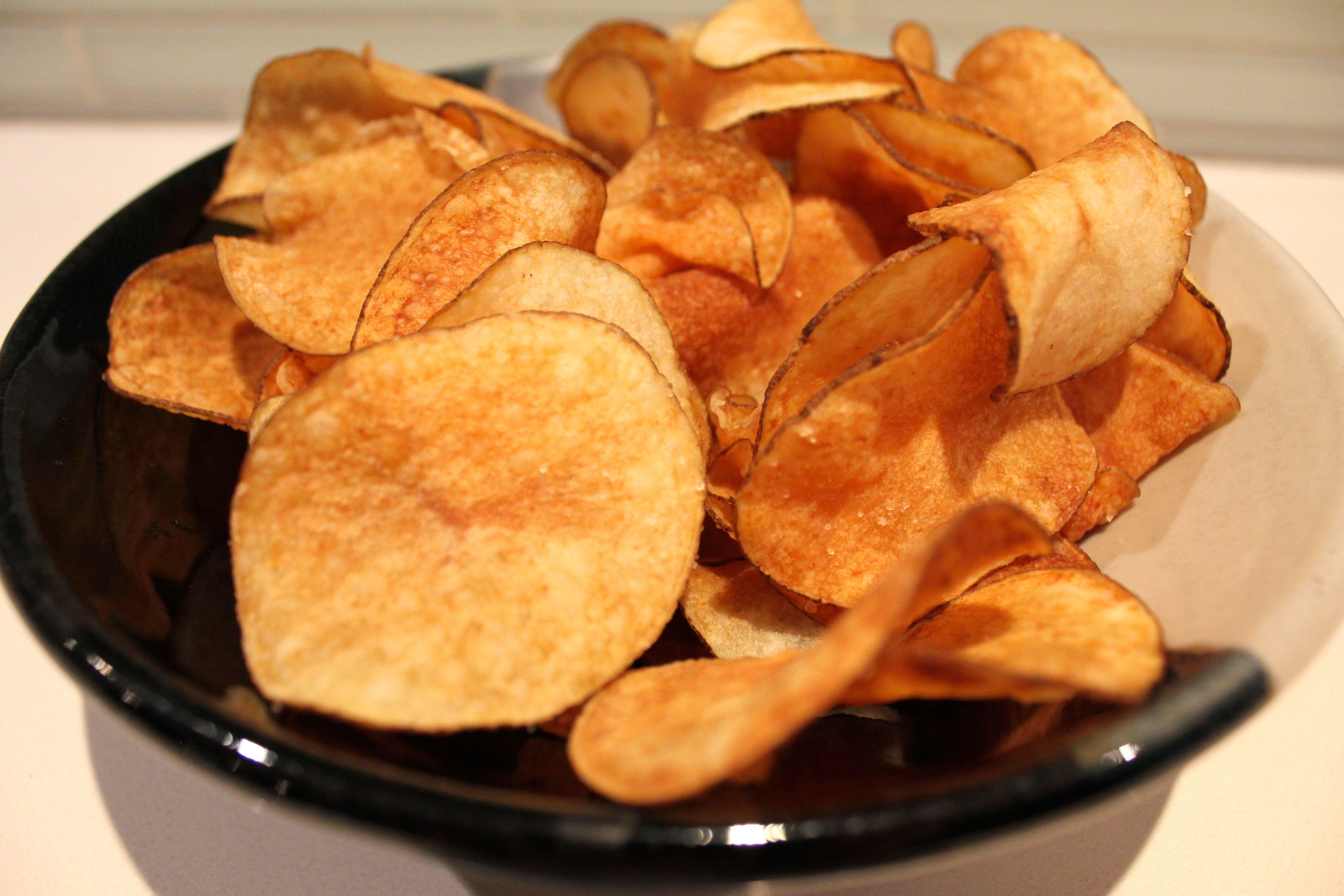 Healthy Potato Chips  Healthy Homemade Potato Chips GF The Healthy Hubby