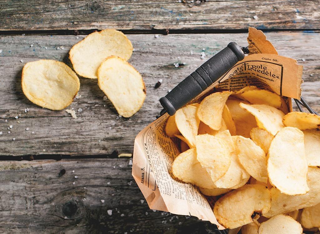 Healthy Potato Chips  Salty Snacks Healthier Than Potato Chips