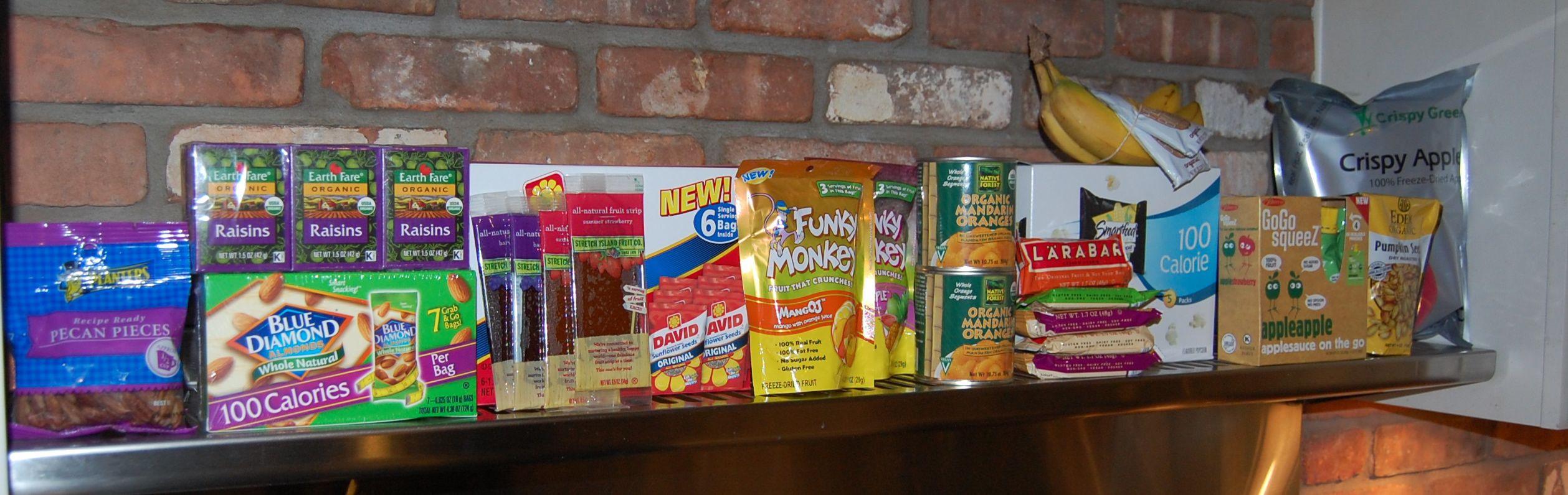 Healthy Prepackaged Snacks  Prepackaged Snacks for School 100 Days of Real Food