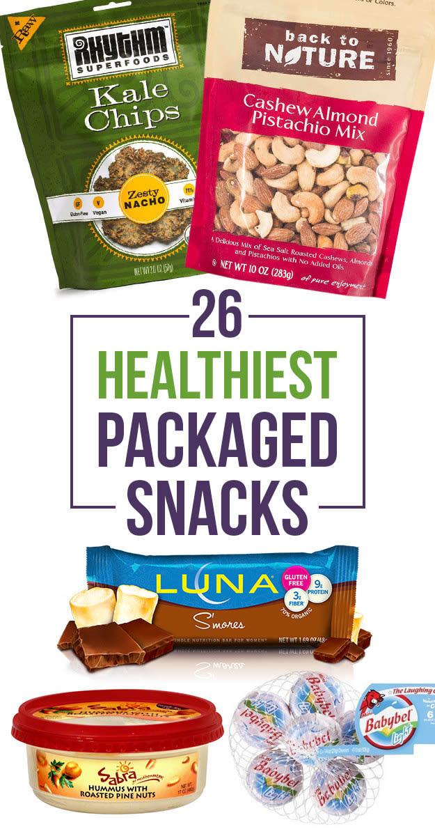Healthy Prepackaged Snacks  healthy prepackaged foods