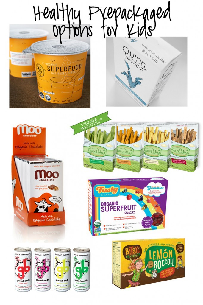 Healthy Prepackaged Snacks  Healthy Prepackaged Options For Kids Round up in the