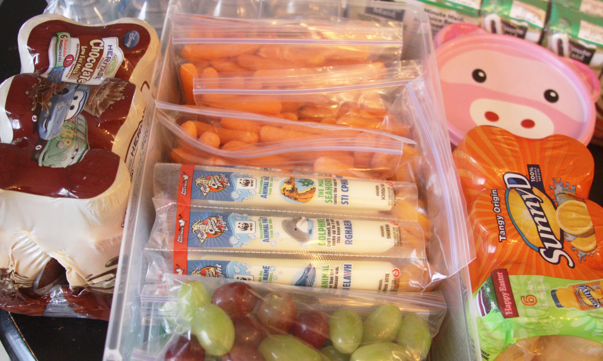 Healthy Prepackaged Snacks  The Snack Pack – Feeding Kids Healthy While Traveling And