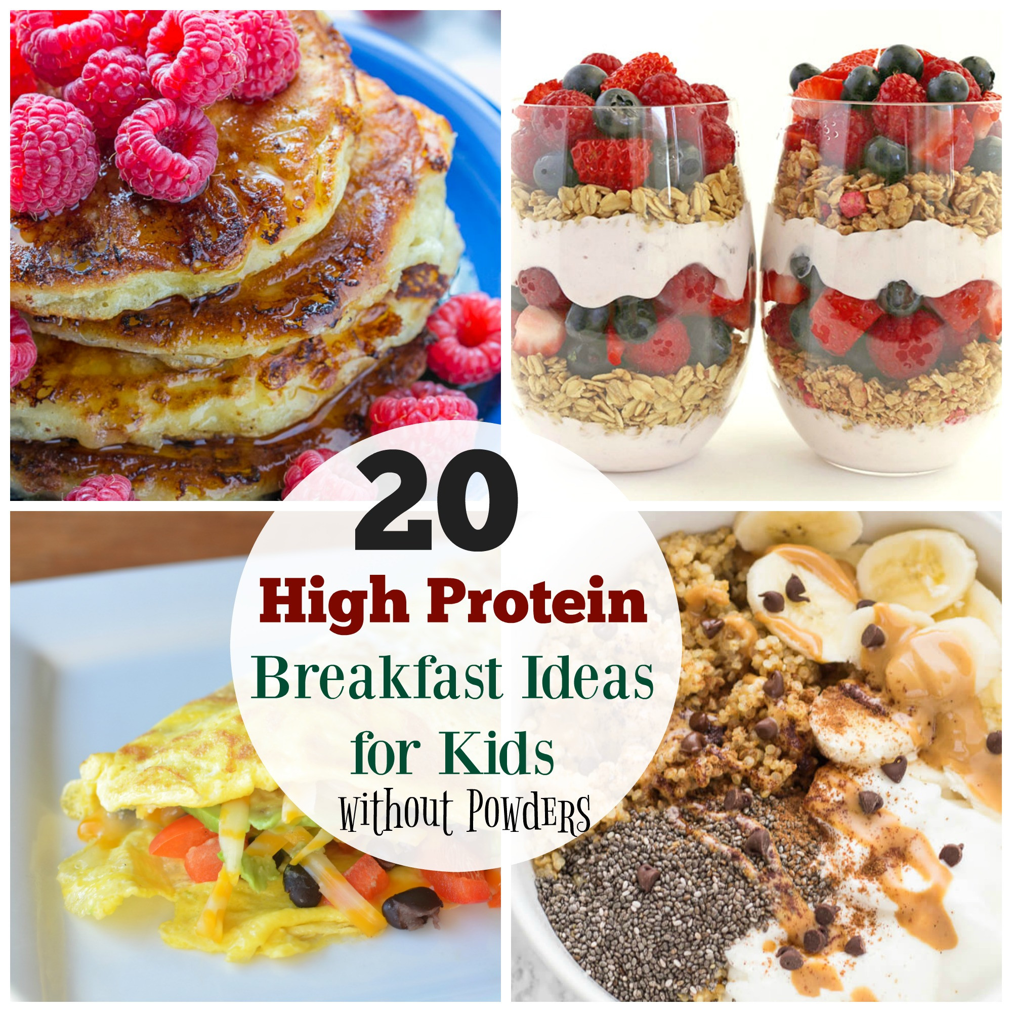 Healthy Protein Breakfast  20 High Protein Breakfast Ideas for Kids The Organized Mom