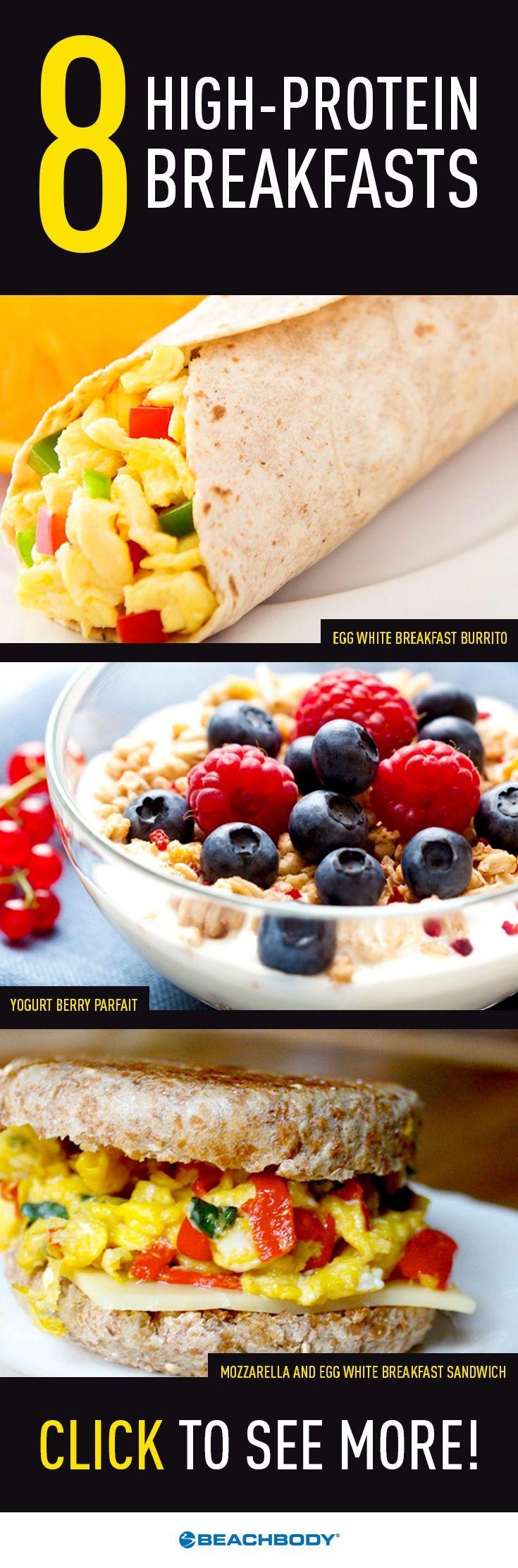 Healthy Protein Breakfast  The 25 best Healthy breakfasts ideas on Pinterest