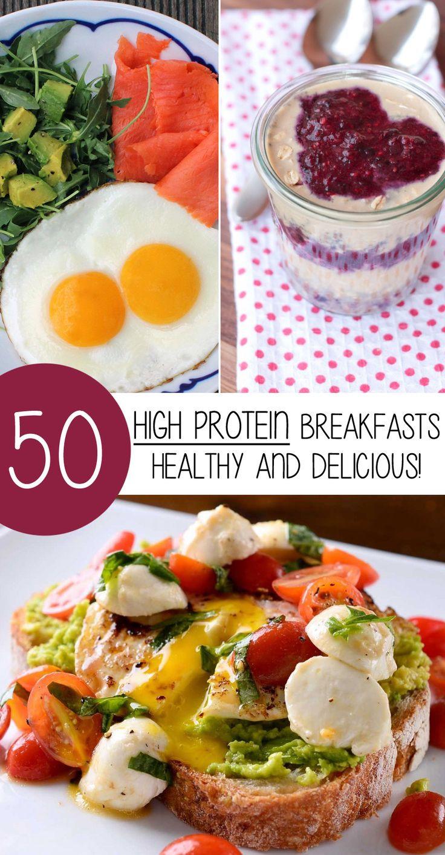 Healthy Protein Breakfast  Best 25 High protein foods list ideas on Pinterest