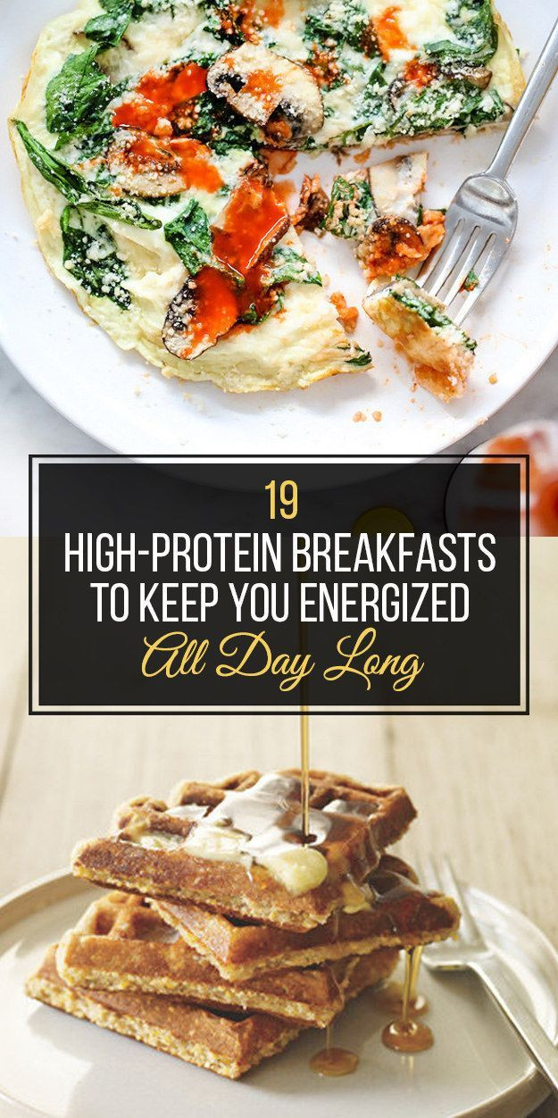 Healthy Protein Breakfast  19 Healthy Breakfasts That Will Actually Fill You Up
