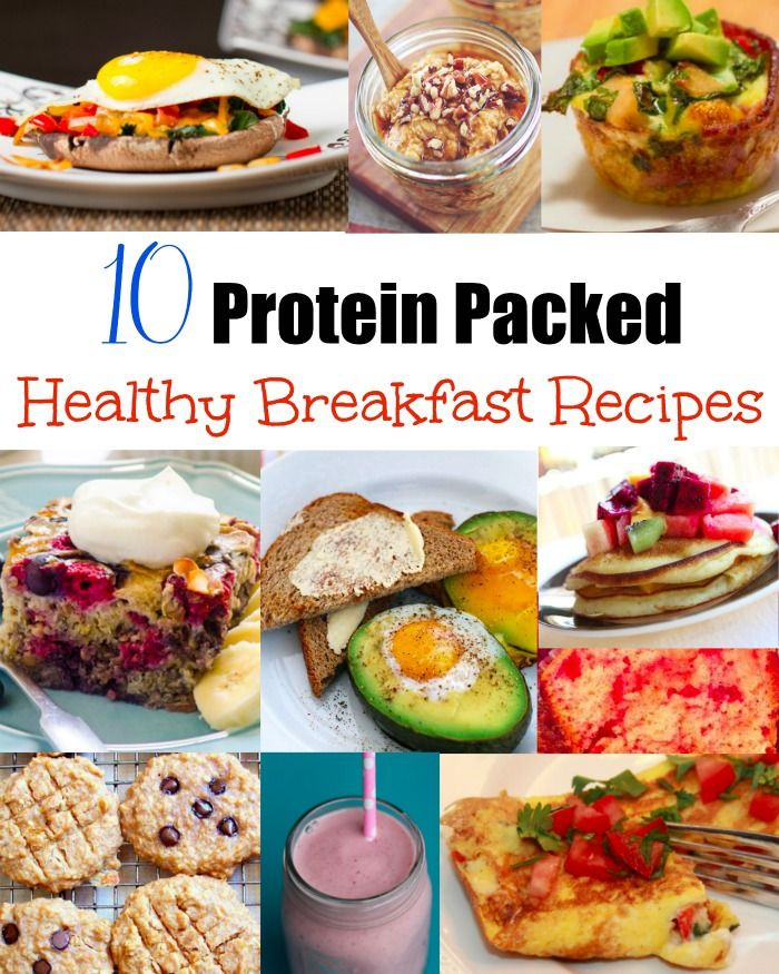 Healthy Protein Breakfast  38 best Small portion breakfasts with 30 grams of protein