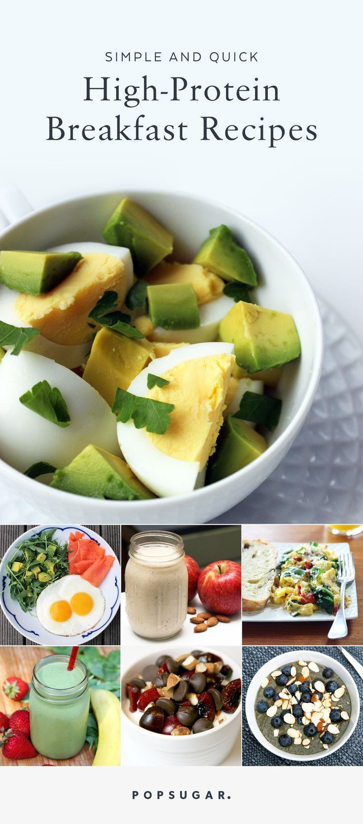 Healthy Protein Breakfast  Healthy Breakfasts