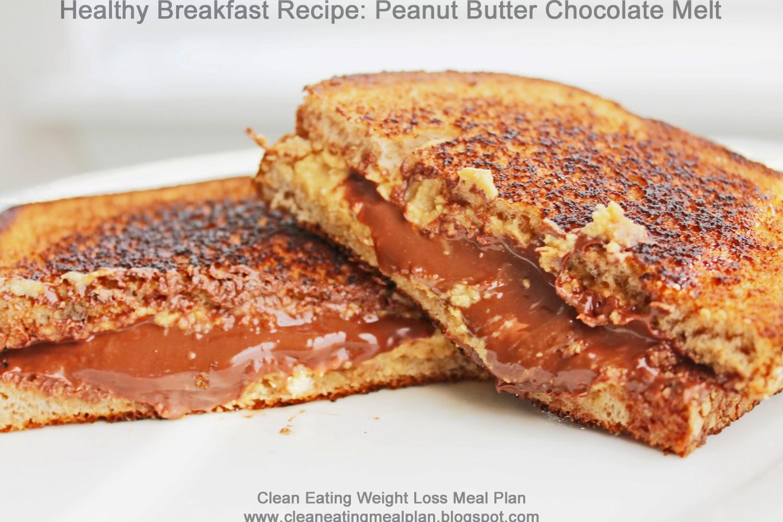 Healthy Protein Breakfast  Healthy High Protein Breakfast Recipe Peanut Butter