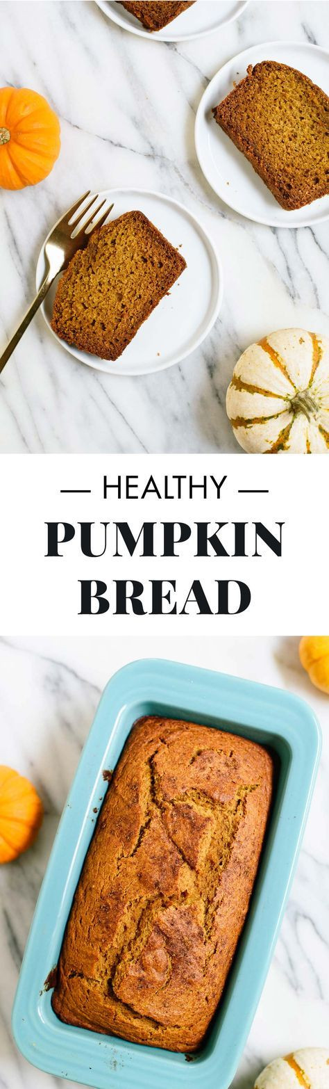 Healthy Pumpkin Bread  518 best hearty breakfasts images on Pinterest