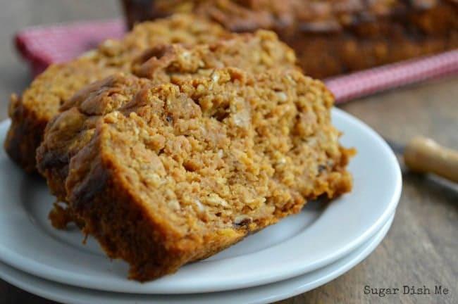 Healthy Pumpkin Bread  pumpkin bread healthy