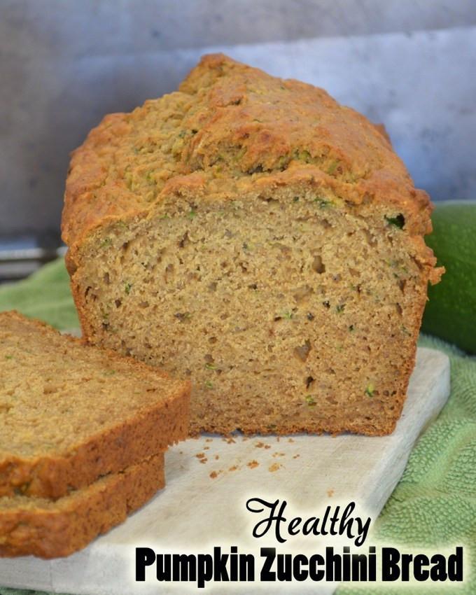 Healthy Pumpkin Bread Recipe  Healthy Pumpkin Zucchini Bread