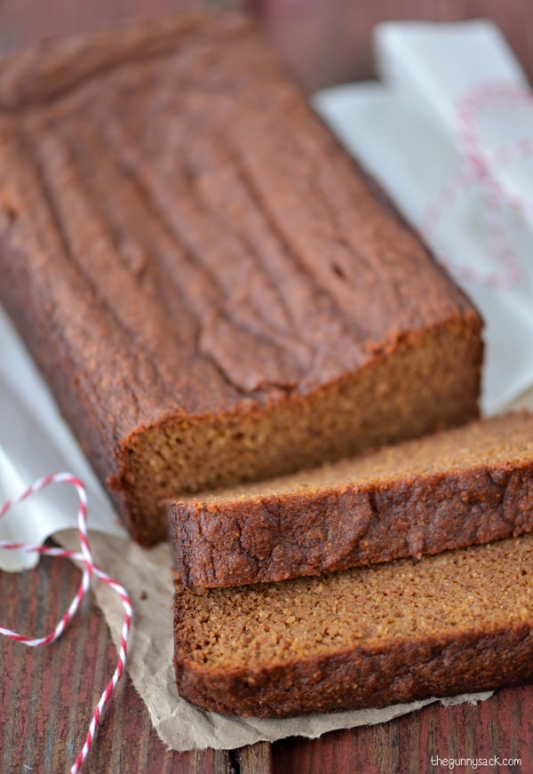 Healthy Pumpkin Bread Recipe  Pumpkin Gingerbread The Gunny Sack