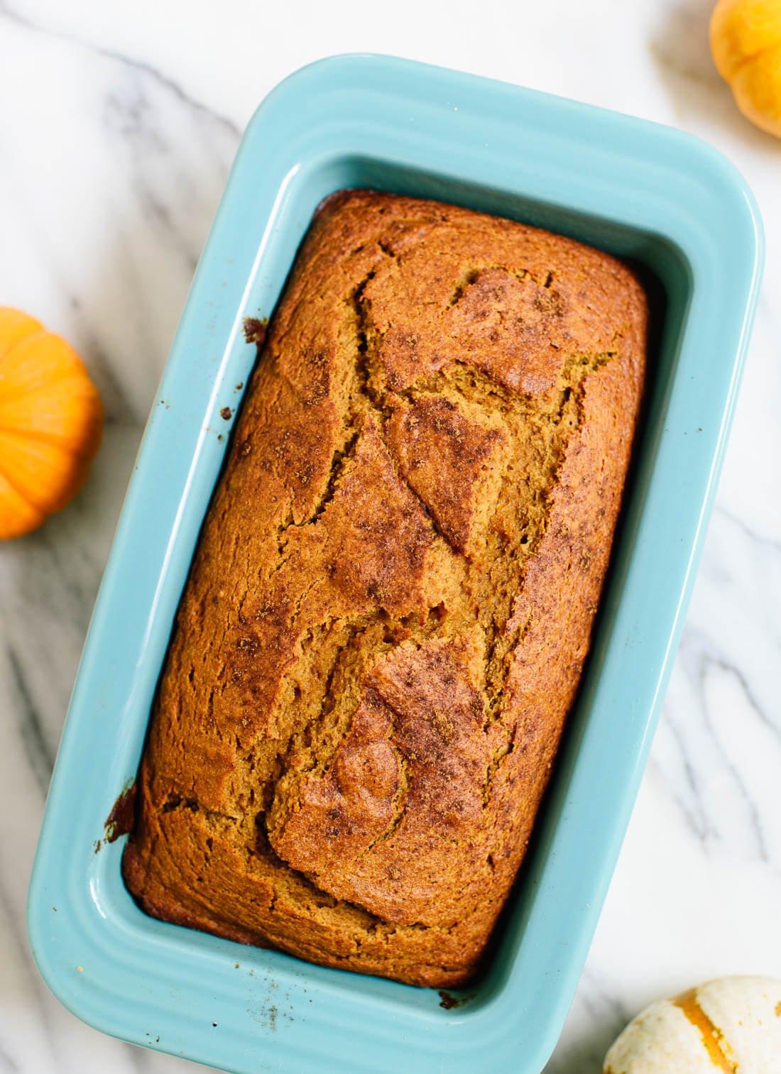 Healthy Pumpkin Bread Recipe  Healthy Pumpkin Bread Recipe Cookie and Kate